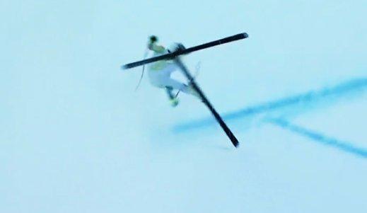 Csúnya balesetet szenvedett olimpikonunk - helikopter ment érte (videó)