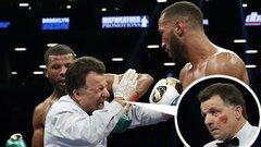Nem csak ellenfele fogát, de a bírót is kiütötte
