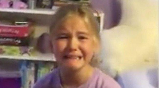 Ez a kislány nem tudta abbahagyni a sírást