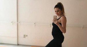 Horváth Éva cuki fotója a születendő gyerek neméről árulkodik