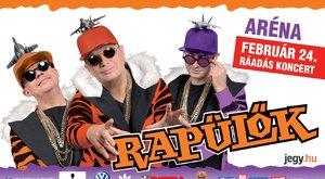 Játssz velünk, és nyerj Rapülők koncertjegyet!