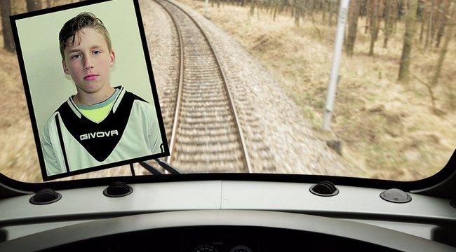 Pszichológus kezeli a 12 éves Gábort elgázoló vonatvezetőt