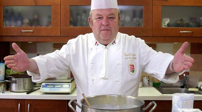 A kórházban is új recepteken gondolkozik Benke Laci bácsi