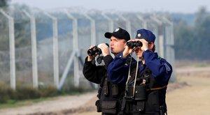 Kiderült, mitől lettek rosszul a határvadászok