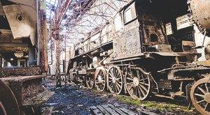 Történelmi ritkaságok rohadnak az istvántelki vonattemetőben