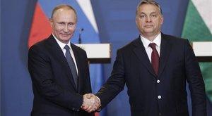 Orbán és Putyin összedugta a fejét