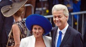 Titkos albérletekben bujkál magyar feleségével a holland kormányfő-jelölt