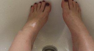 Pancser: beleragadt a kádba a beteg nő