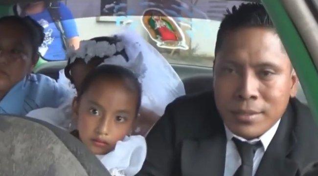 Terhes tini kergette bigámista férjét, aki második esküvőjéről a hátsó ajtón távozott - videó
