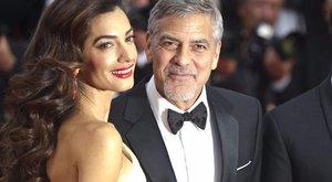 Most már biztos: ikreket vár George és Amal Clooney