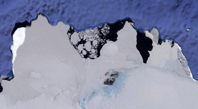 Para: idegen űrhajót látnak az Antarktiszon