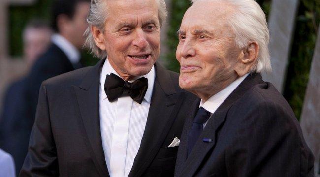 100 évesen is a régiKirk Douglas humora