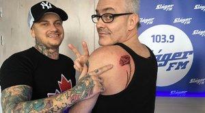Fogadásból tetováltatott magára Abaházi Csaba
