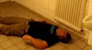 Tántorgott egy kicsit, majd kiütötte magát a részeg fickó