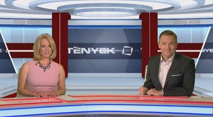 A TV2 az óriási LED-falra büszke