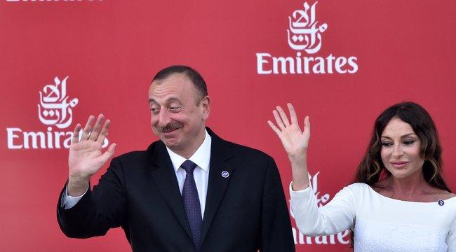 Családban marad: neje lett a helyettese az azeri elnöknek