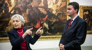 A magyar herceg mutatta be az Osztrák Magyar Monarchia festészetét