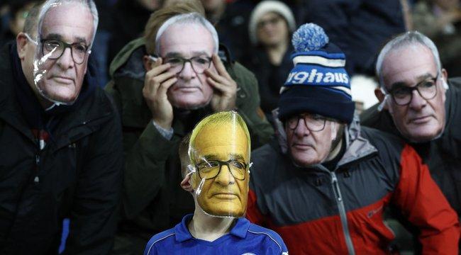 Méltón búcsúztak Ranieritől a szurkolók