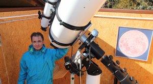 Kettős csillagot is elneveztek az eget fotózó Tamásról