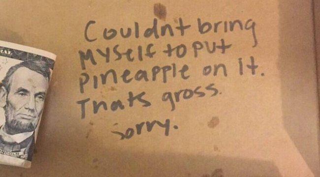 """""""Nem rakok ananászt a pizzádra. Az undorító, bocsi"""" – folytatódik a pizza-gate"""