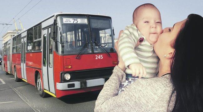Elszakította babájától Vivient a trolisofőr