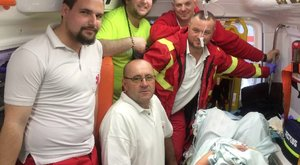 A pécsi mentőállomáson, egy mentőben született meg egy kisfiú