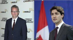 Megverte a kanadai kormányfőt a Jóbarátok sztárja