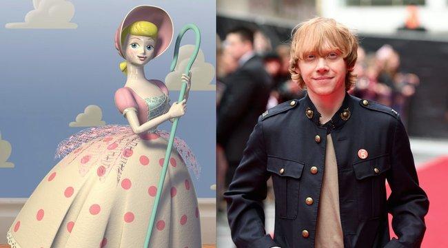 Játékbabába volt szerelmes a Harry Potter Ronja