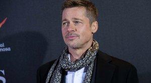 Depisen szobrászkodik Brad Pitt
