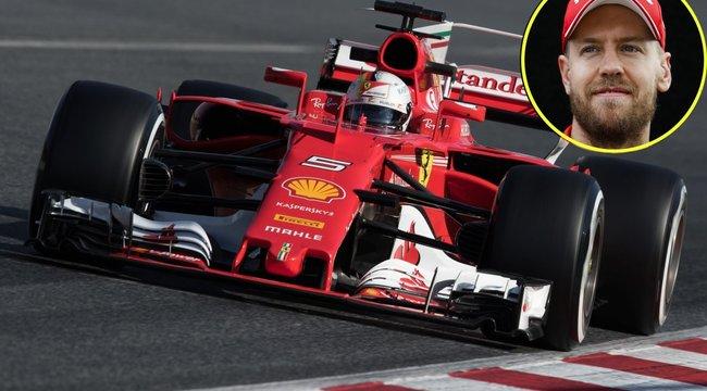 Forma–1: Vettel beginázott, a favorit viszont Hamilton