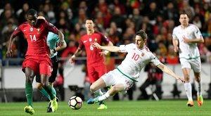 Sajnos sima vereség lett a vége, 3-0-ra nyertek a portugálok