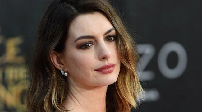 Terhesen jobb színész volt Anne Hathaway