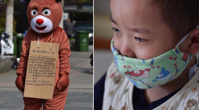 A tehetetlen apa medveként ölelgetett volna bárkit, hogy fia életben maradjon