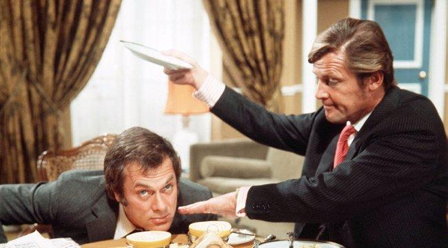 Minden lében két kanál: Curtis és Moore önmagát játszotta a sorozatban