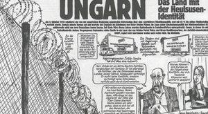 Magyarország, a bőgőmasina– németül is
