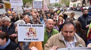 Több ezren az Oroszországért tartott Békemeneten – képek
