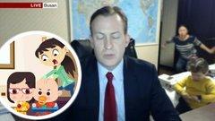 Rajzfilm készült a BBC-interjúba beletrollkodó gyerkőcökből - videó