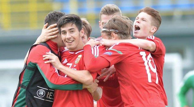 Akár a nagyok: csoportelsőként jutott tovább az U17-es válogatott az Eb-n