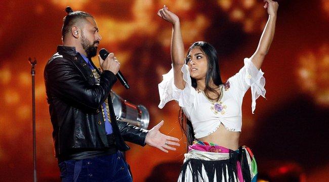 Eurovíziós Dalfesztivál:zokogott a fellépés előtt Pápai Joci