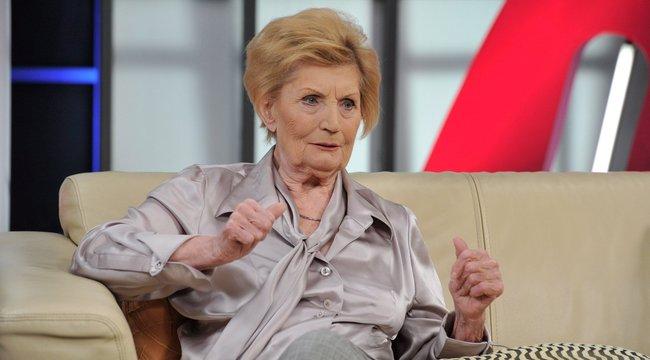A 90 éves Máthé Erzsi: Holnap is bulizni fogok!