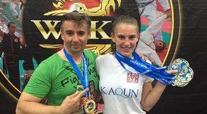 A világ legjobb bokszolónőjétől kapott meghívást a magyar tehetség
