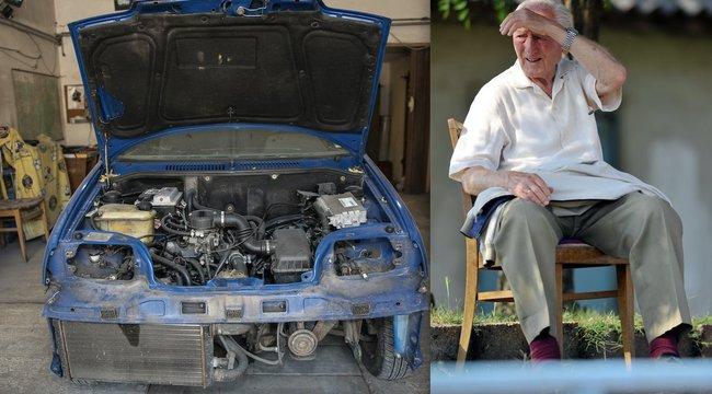 Illovszky autójából műemlék lesz