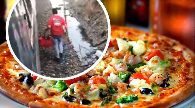 """""""A semmi közepén áll a vonat? Nem gond, visszük a pizzát!"""" videó"""