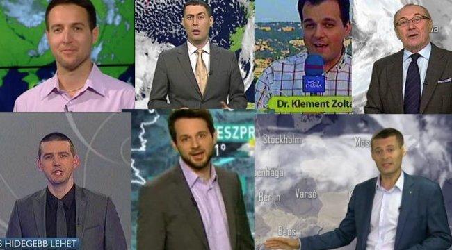 Szavazzon! Ki a legsármosabb hazai időjárás-jelentő?