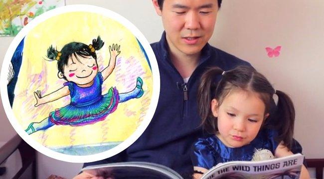 Megható: saját kislányának írt gyerekkönyvet az apuka