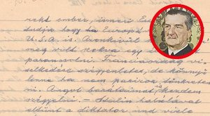 600 000 forintról indul Horthy bizalmas levele