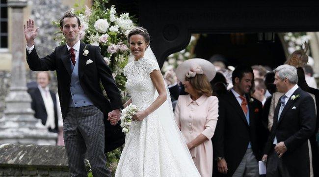 Csodaszép Pippa Middleton – az első képek Katalin hercegné frissen megházasodott húgáról
