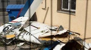 Lezuhant egy vitorlázó repülőgép Nyíregyházán – a pilóta meghalt