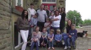 Nincs megállás: tizenkilenc gyerekük van, és már várják a huszadikat