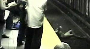 A metrósínekreesett egy nő, pillanatokon múlot az élete – videó